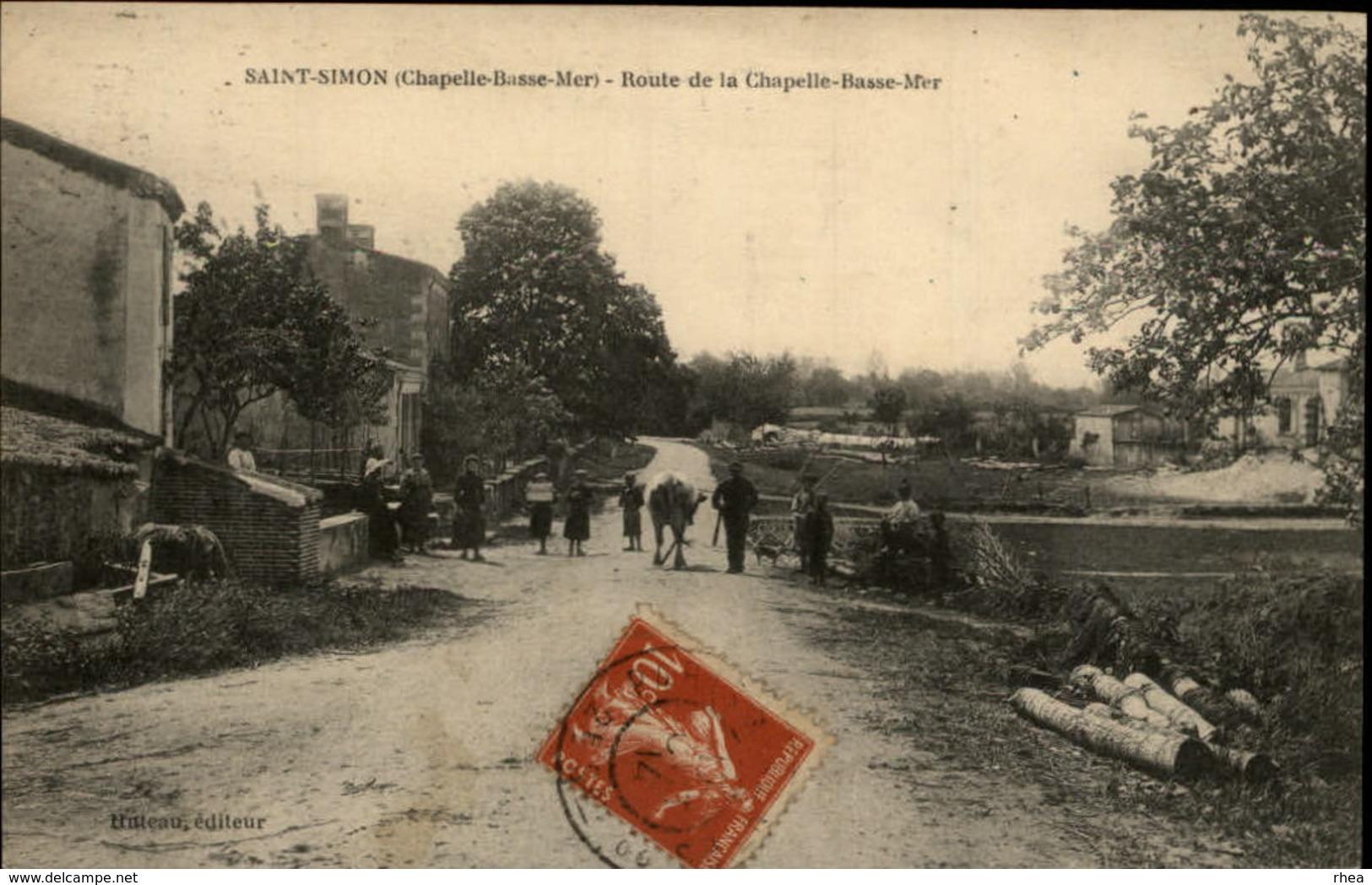44 - LA CHAPELLE-BASSE-MER - St Simon - Journaux - Quotidiens