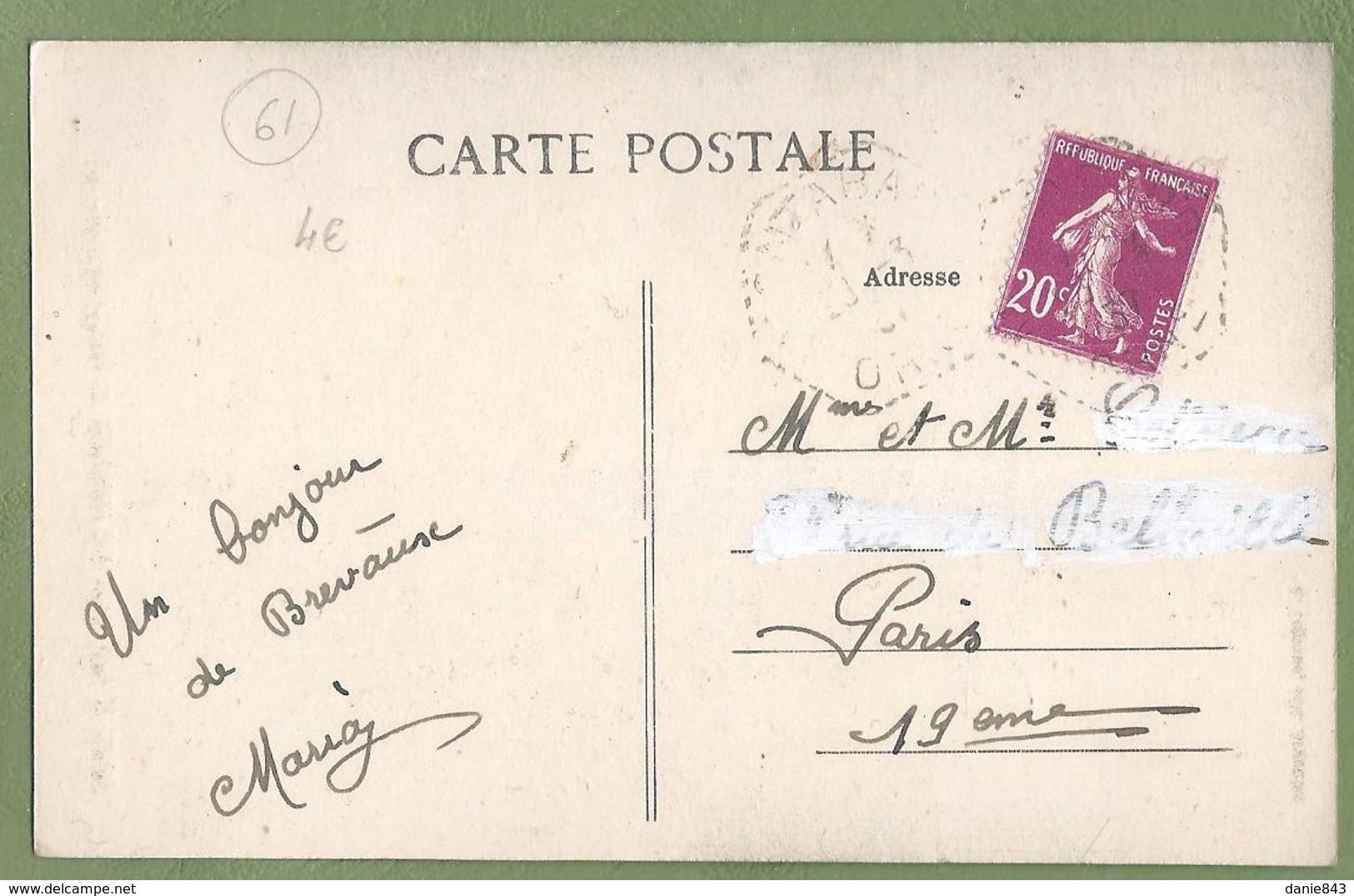 CPA - ORNE - OCCAGNES - MONUMENT AUX MORTS POUR LA PATRIE - A. Lejeune - France