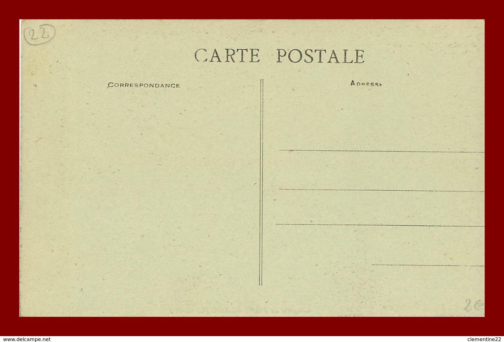 Port Blanc La Chapelle  St Yves En Le Riche Et Le Pauvre ( Scan Recto Et Verso ) - Penvénan