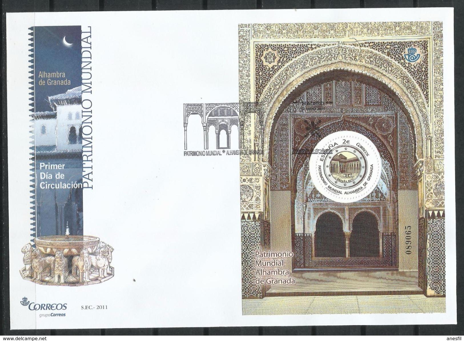 España_FDC_2011_Patrimonio Mundial. - FDC