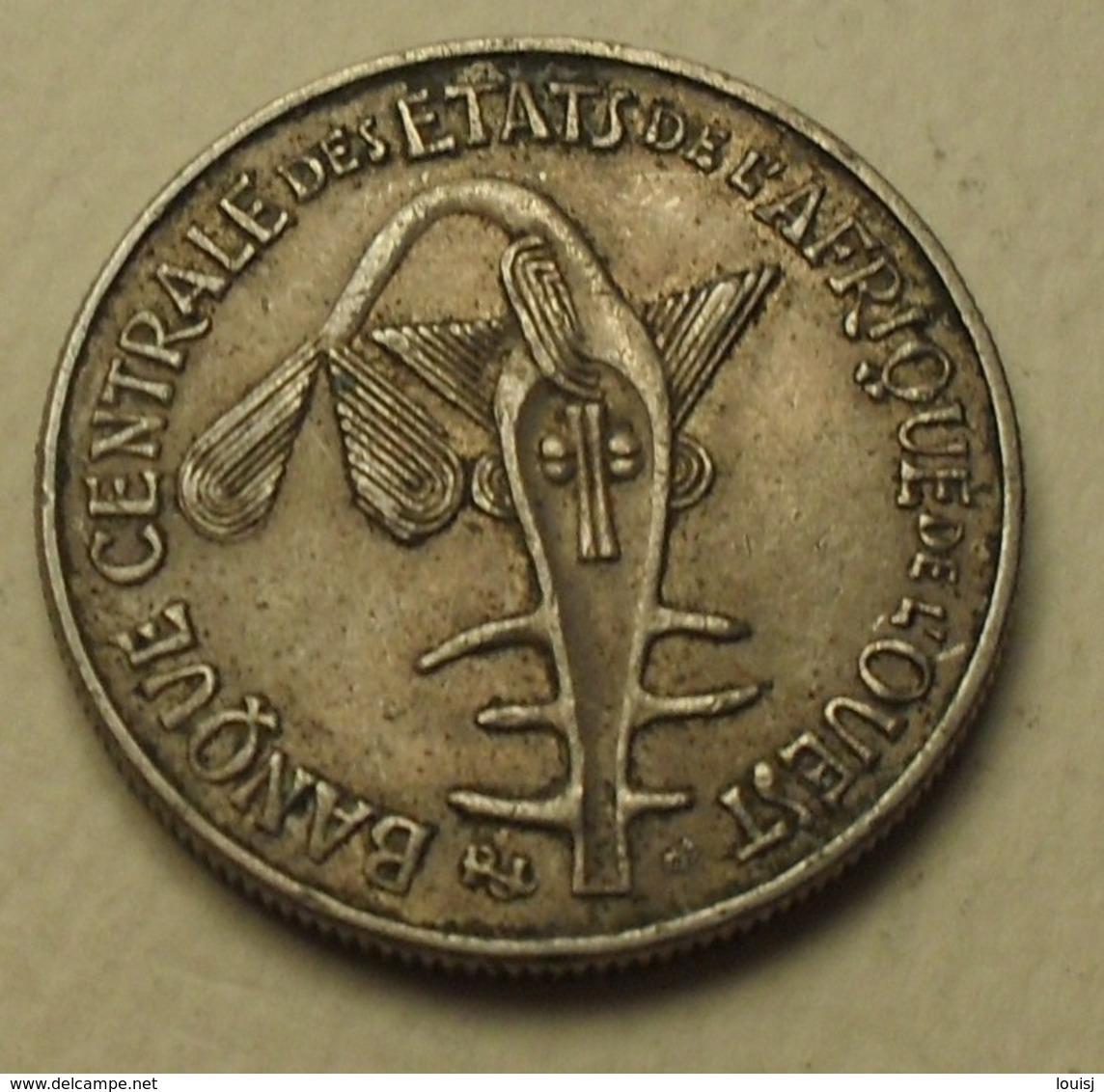 1984 - Afrique De L'Ouest - West African States - 50 FRANCS, BCEAO, F.A.O., KM 6 - Monnaies