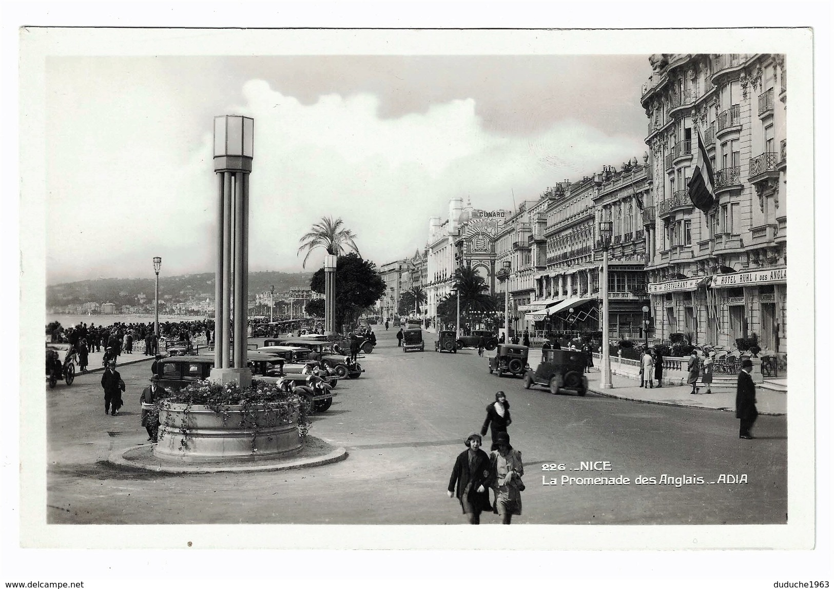 CPSM. Nice - La Promenade Des Anglais - Nizza