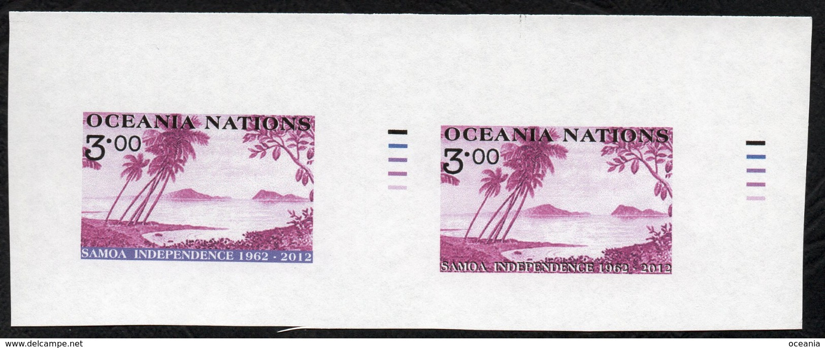 Oceania Post Proof Pairs. - Unclassified