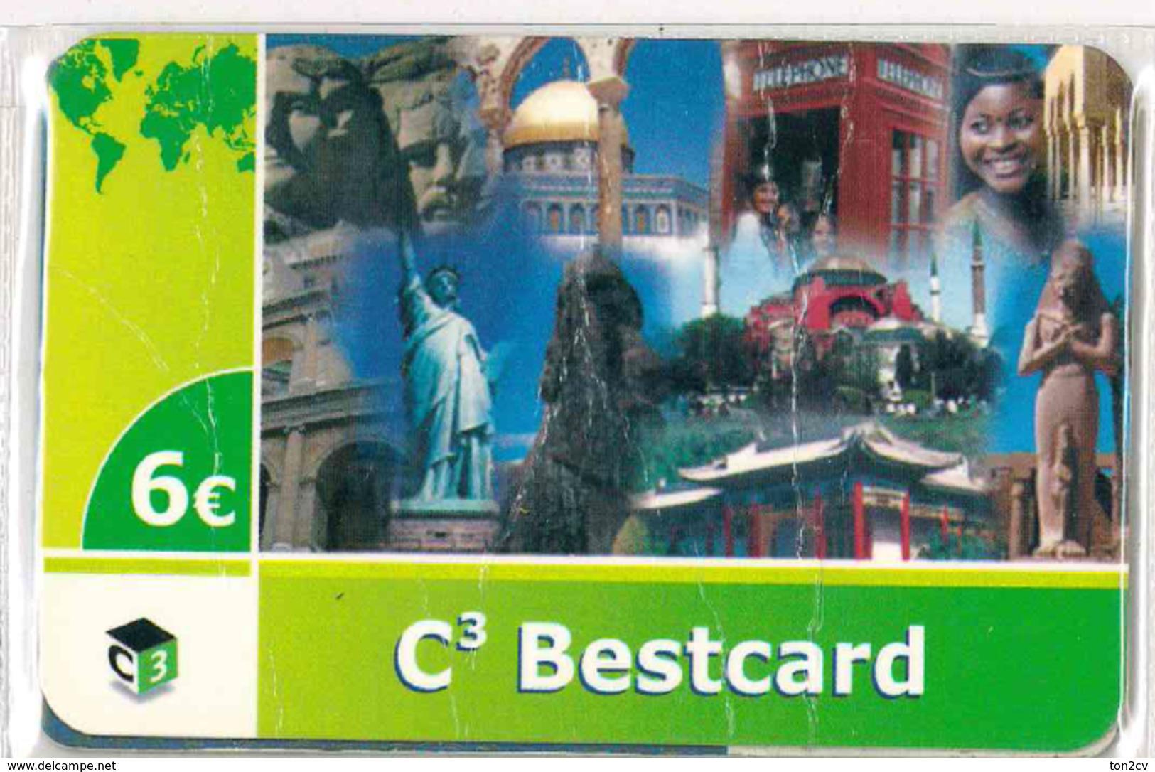 Phonecard - BESTCARD - Onbekende Oorsprong