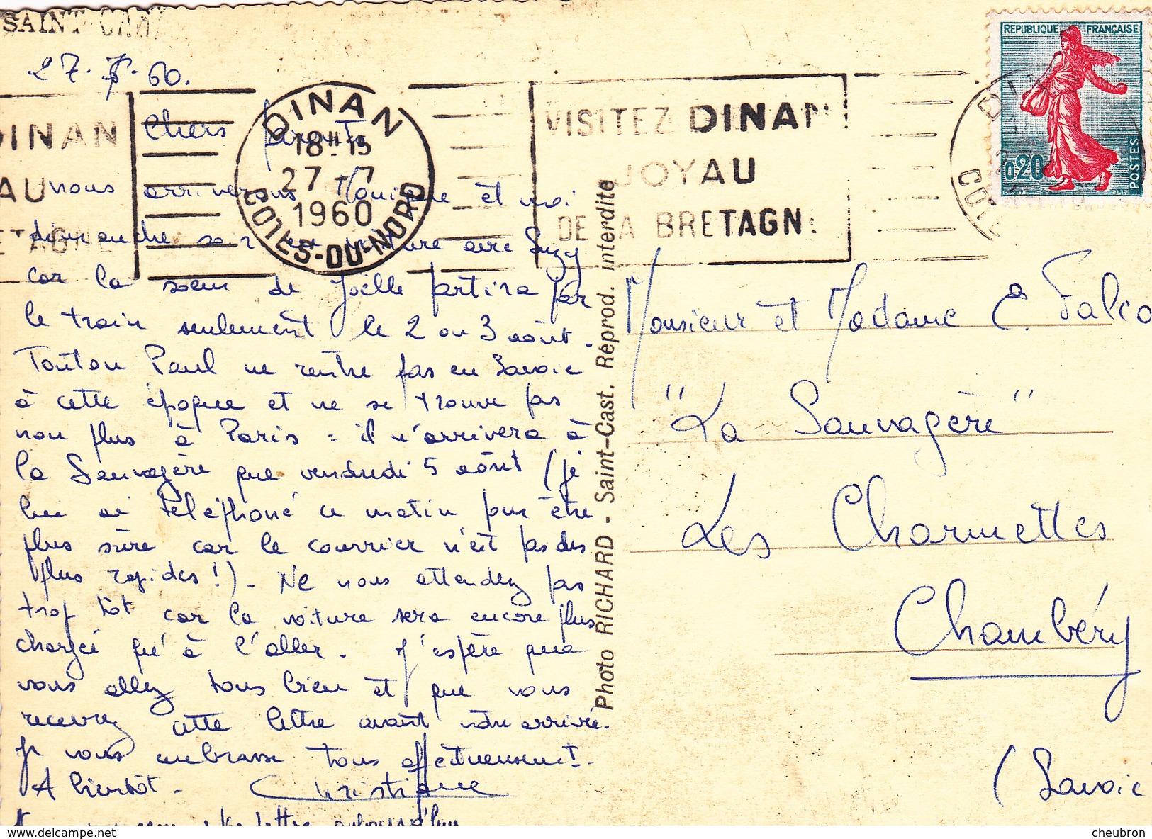 22. SAINT CAST. VOILIERS. ANNÉE 1960 - Saint-Cast-le-Guildo