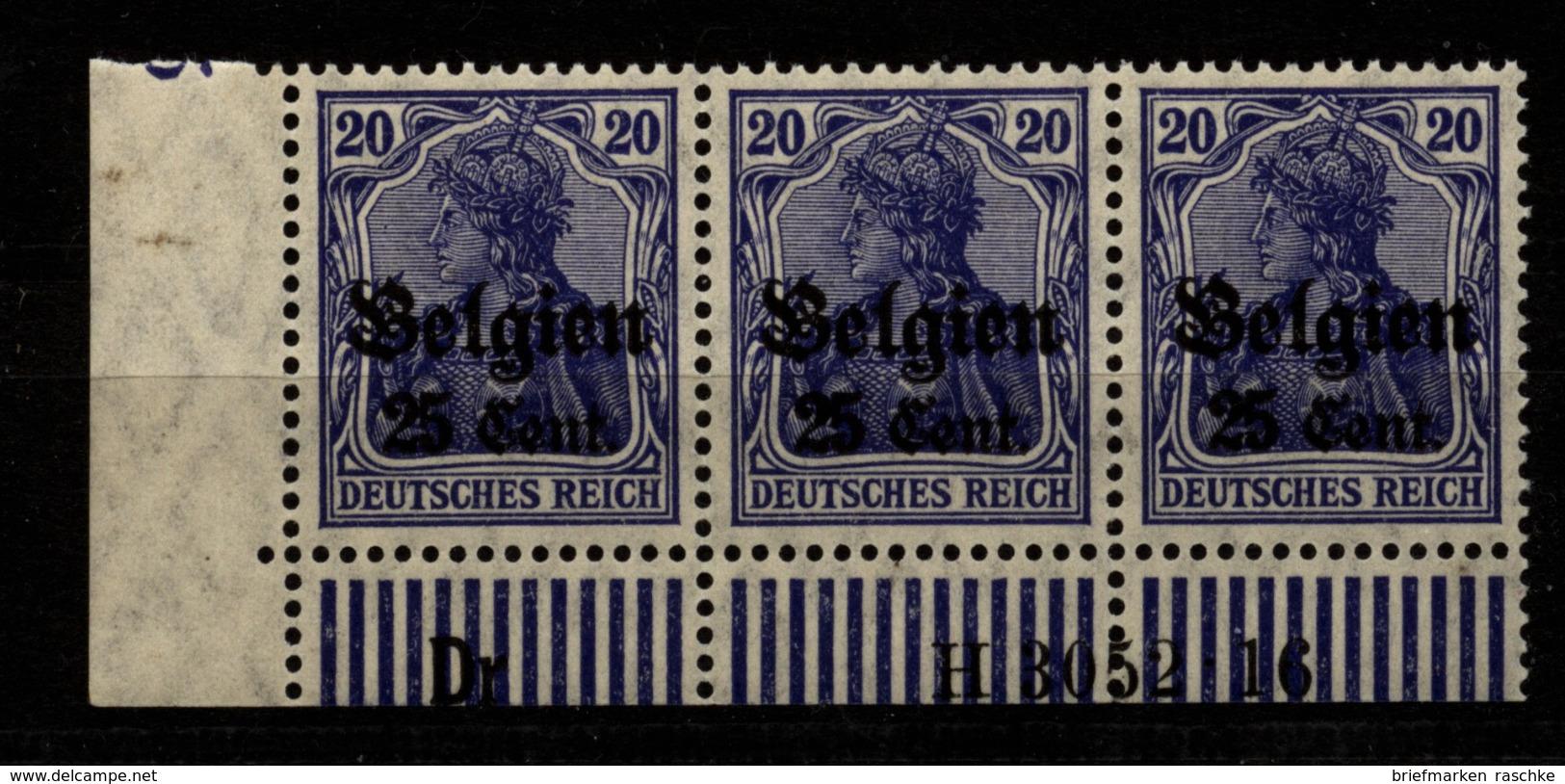 Belgien,18a,Dr 3052.16,xx - Besetzungen 1914-18