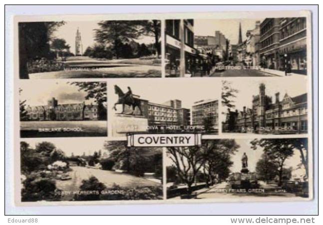 COVENTRY  Multivieiw Card - England