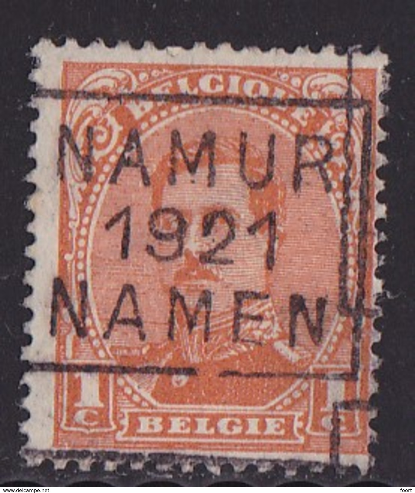 Namen 1921  Nr.  2649C - Preobliterati