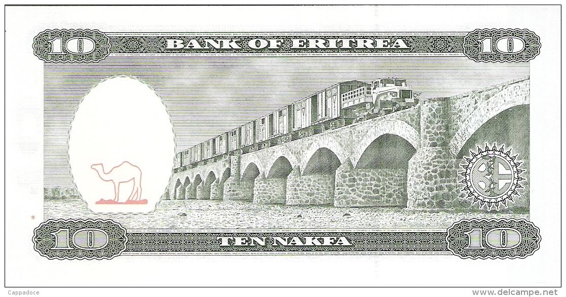 ERYTHREE   10 Nakfa   24/5/1997   P. 3   UNC - Eritrea