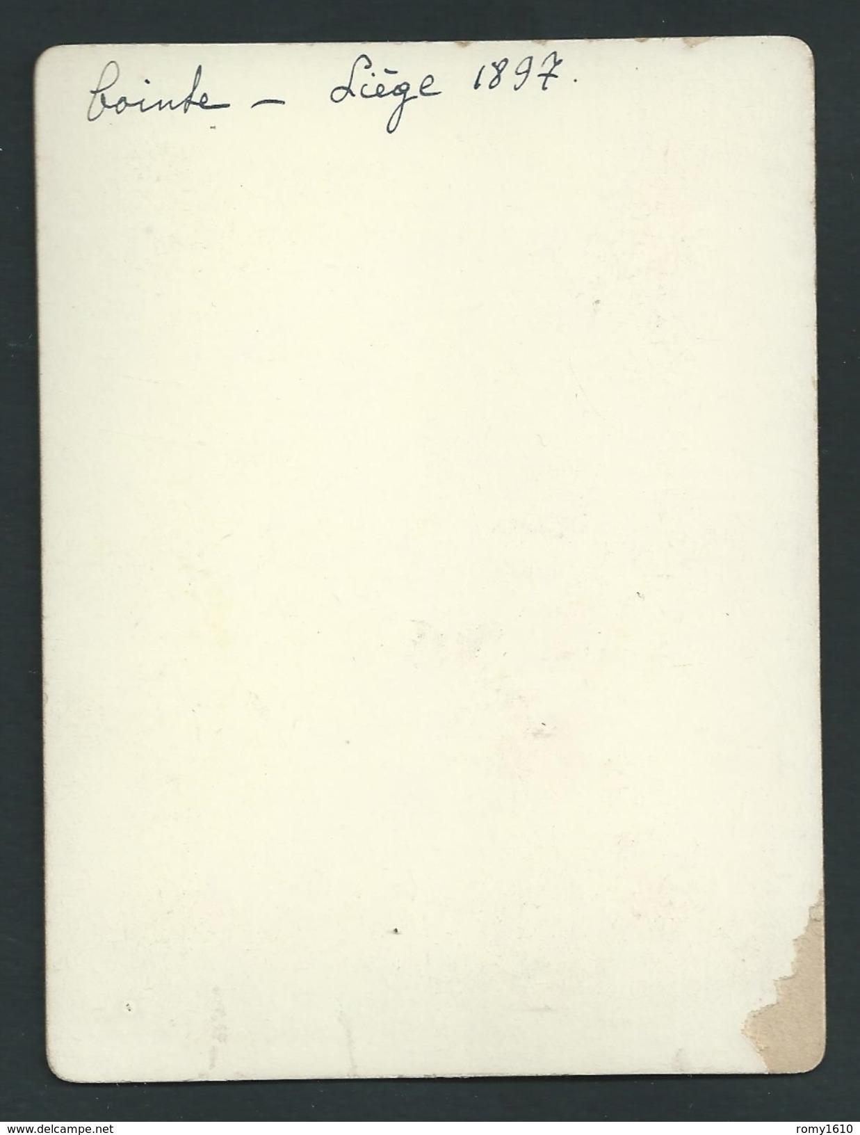 Liège - Cointe. L'Observatoire. Photo Ancienne 1897. 2 Scans. - Lieux