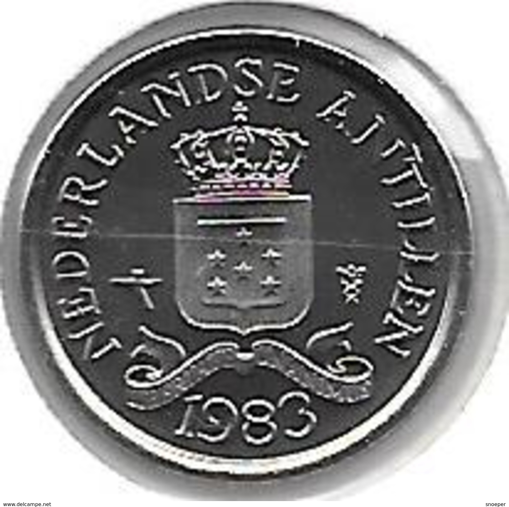 Neth Antilles 10 Cents  1983 Km 10   Bu - Netherland Antilles
