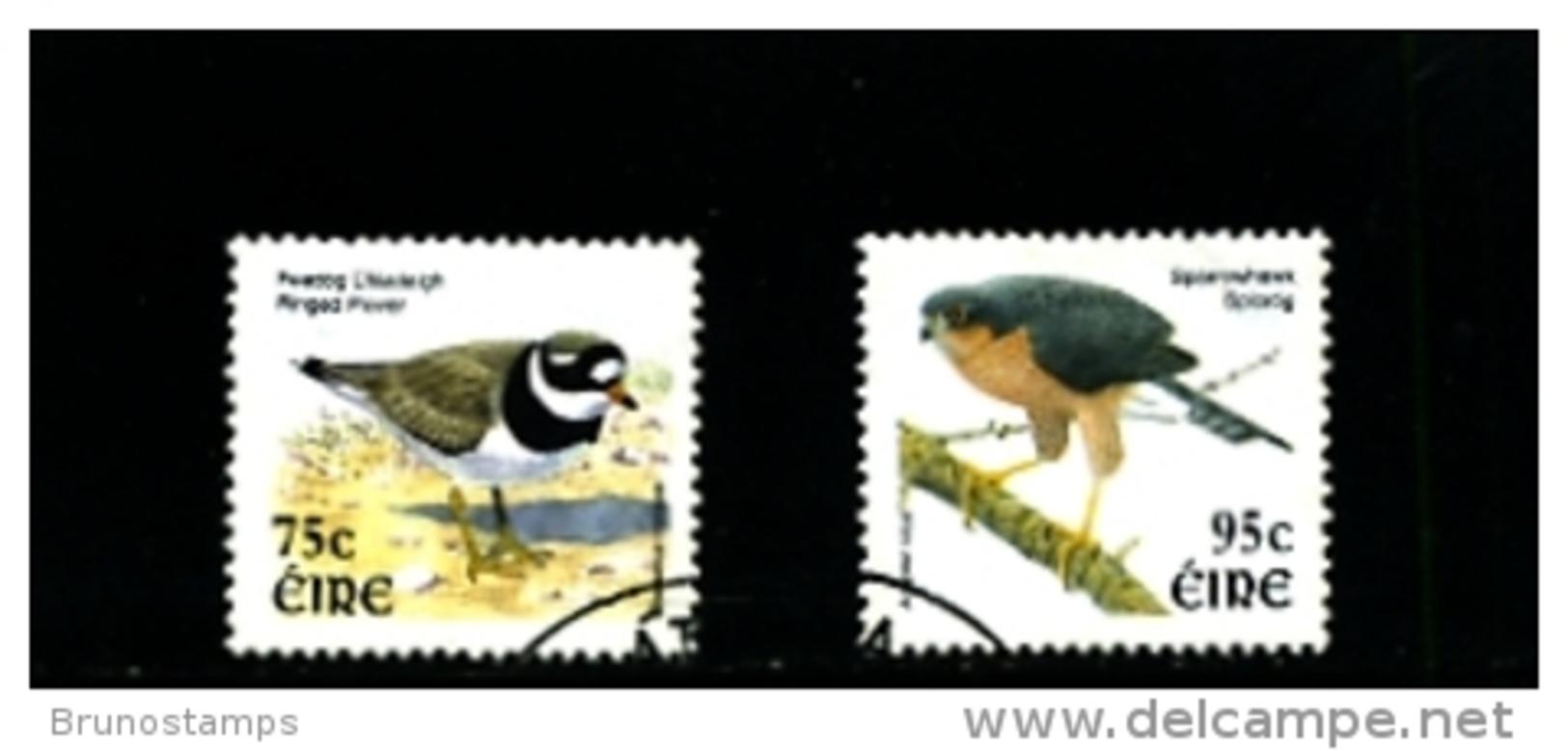 IRELAND/EIRE - 2003  BIRDS (75c + 95c)  SET  FINE USED - 1949-... Repubblica D'Irlanda