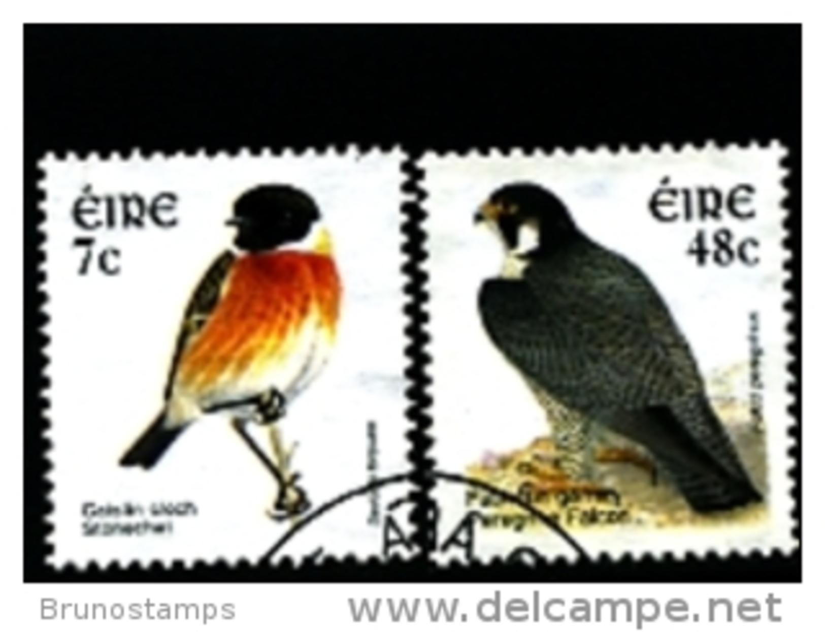 IRELAND/EIRE - 2003  BIRDS  (7c. + 48c.)  SET  FINE USED - Usati
