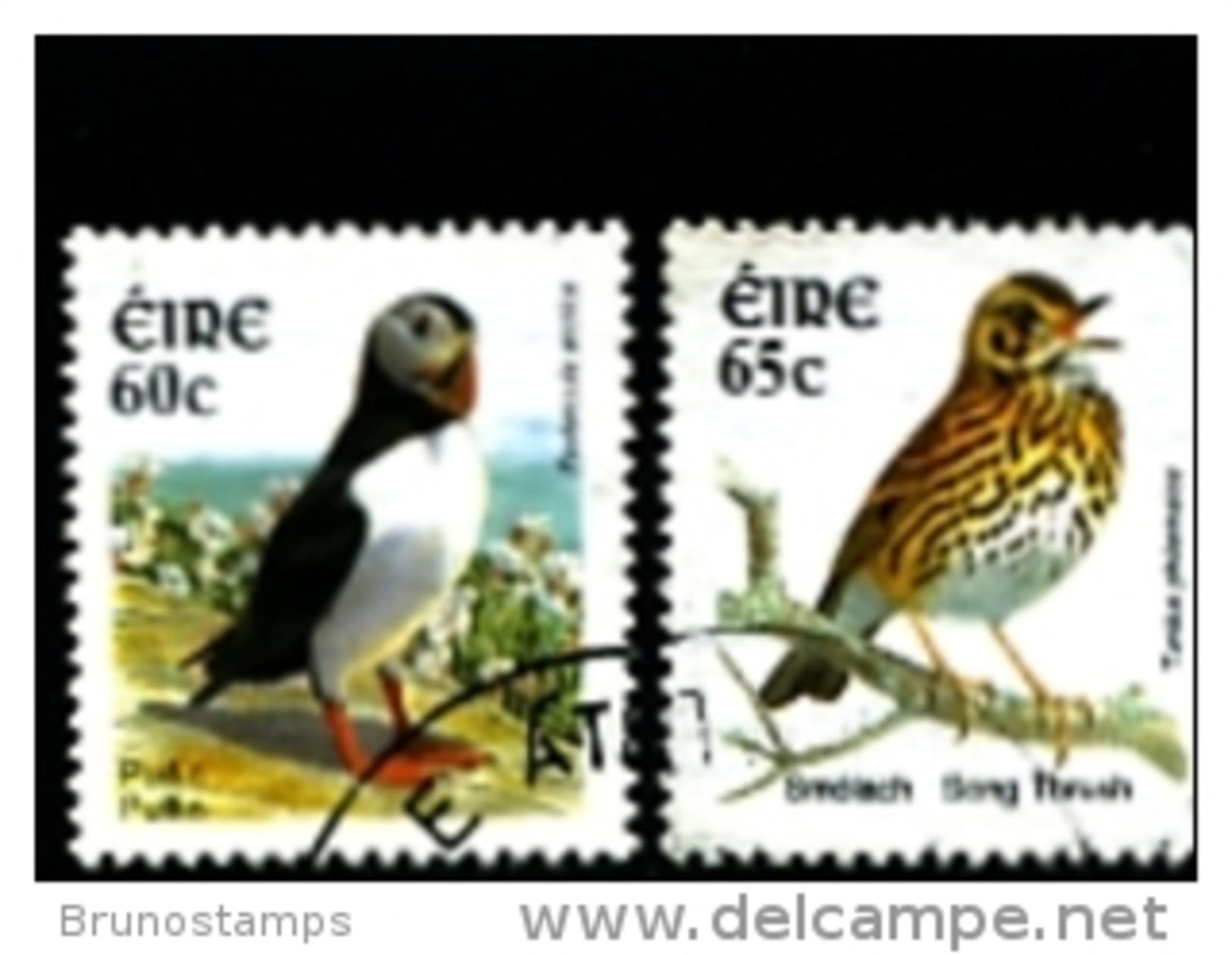 IRELAND/EIRE - 2004  BIRDS (60c. + 65c.)  SET  FINE USED - 1949-... Repubblica D'Irlanda