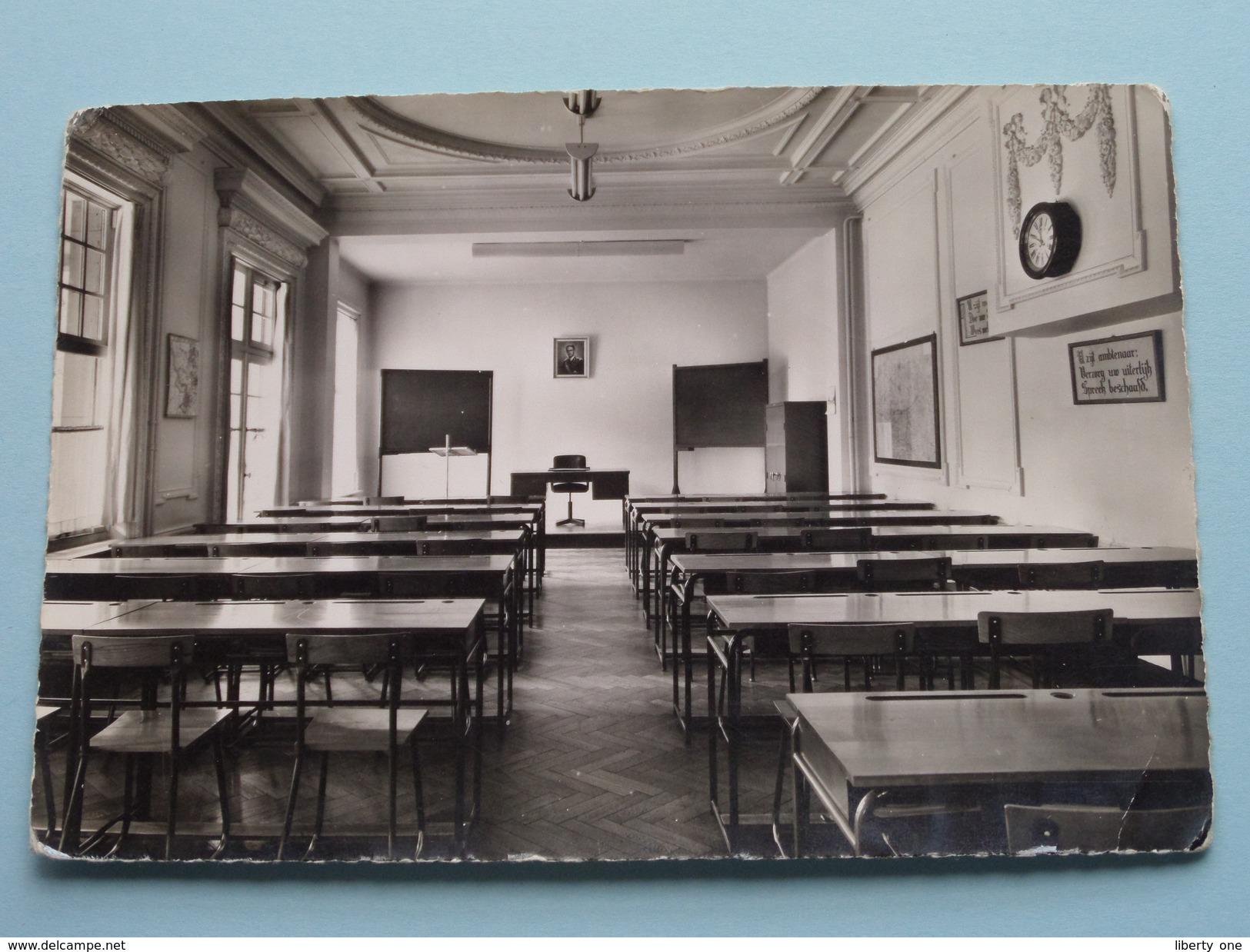 Douaneschool Kapellen Klaslokaal ( Zie Foto Voor Details ) Anno 19?? !! - Kapellen