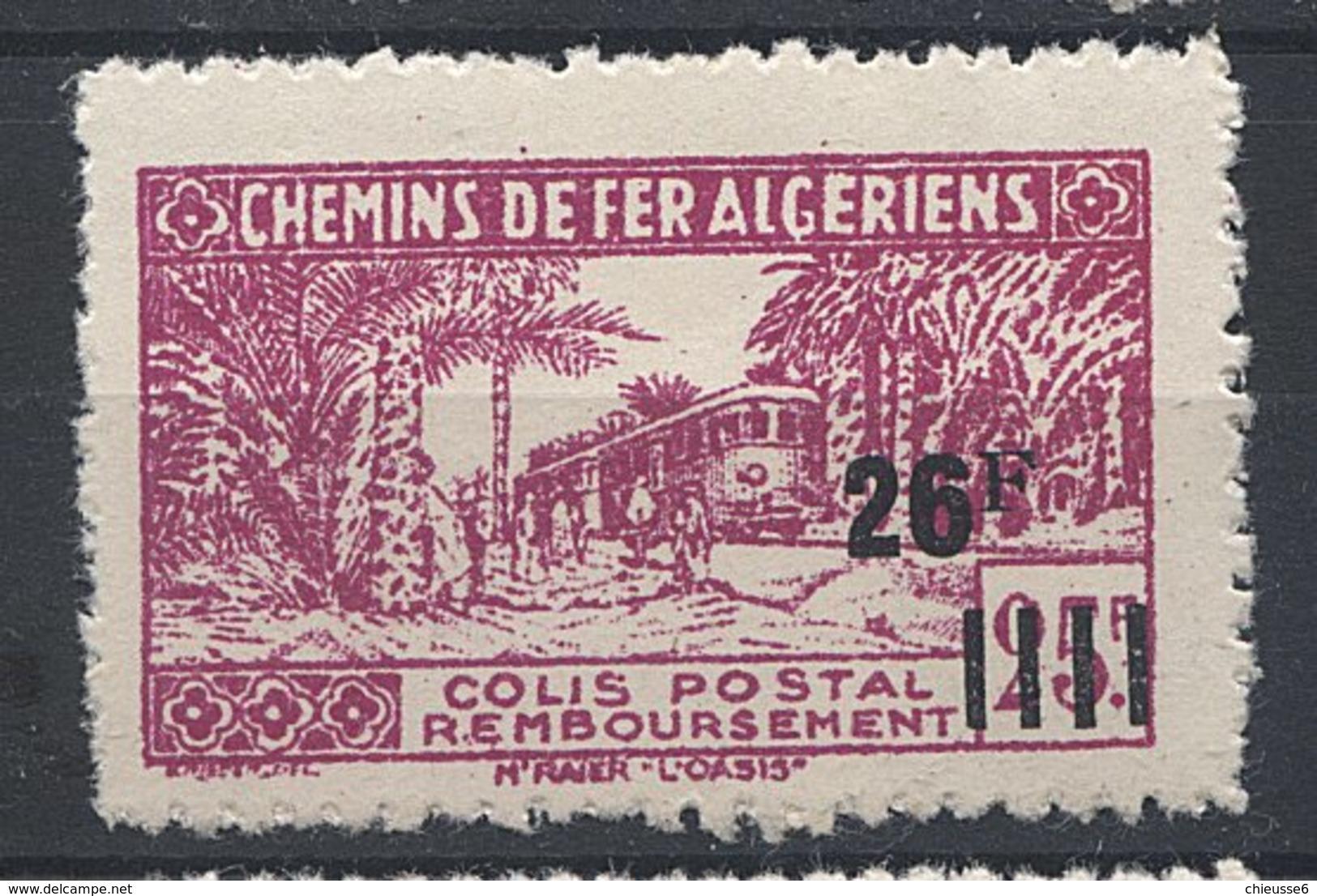 Algérie Colis Postaux ** - N° 188 - Dallay - - Unused Stamps