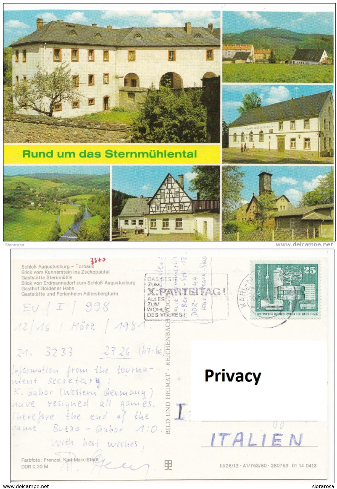 Germania Augustusburg - Torhaus - Rund Um Das Sternmuhlental - Auersberg