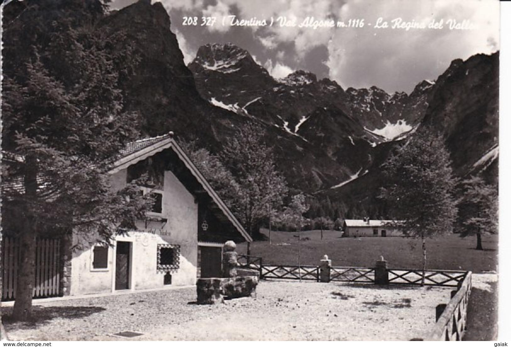 L129 TRENTINO - VAL ALGONE - LA REGINA DEL VALLON - Trento