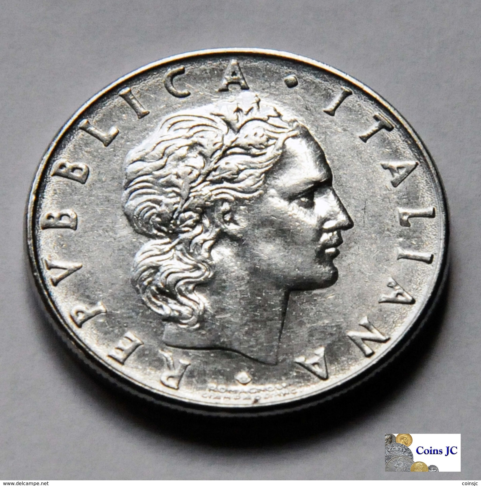 Italia - 50 Lire - 1977 - 1946-… : República