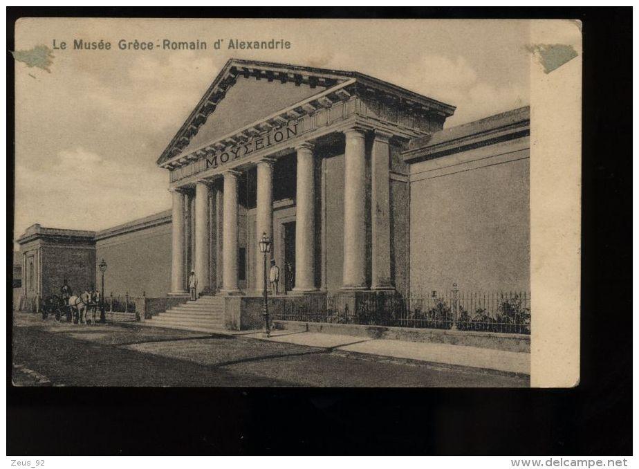 B3461 ALEXANDRIE - LE MUSÉE GRÈCE-ROMAIN - Alejandría