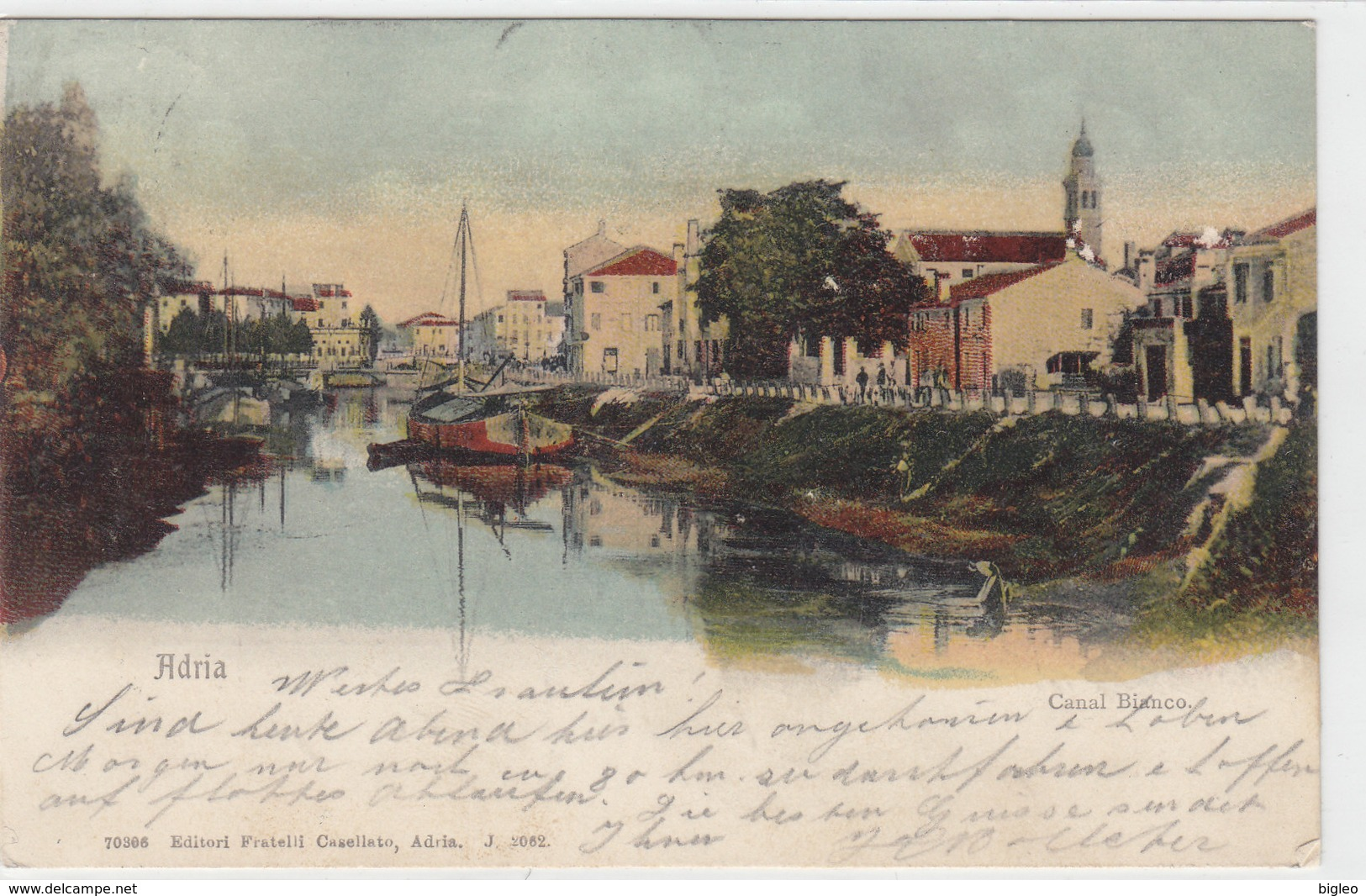 Adria - Canal Bianco - 1909     (A25-110212) - Italia