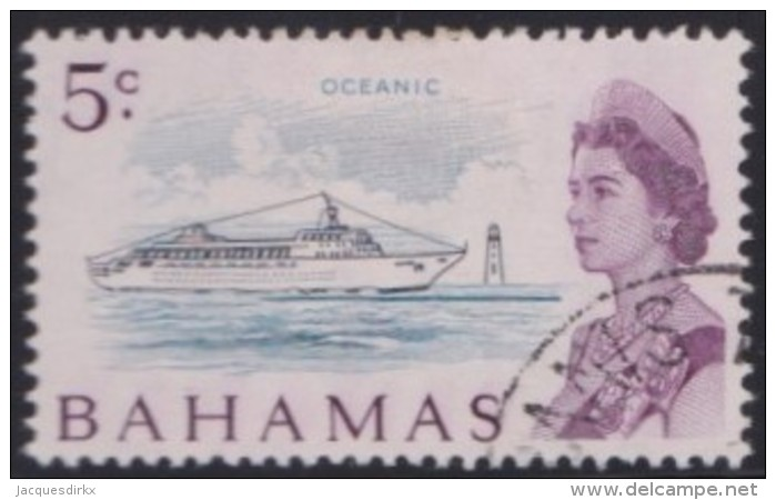 Bahamas   .     SG    .     299     .      O        .       Gebruikt  .  /   .  Cancelled - Bahamas (...-1973)