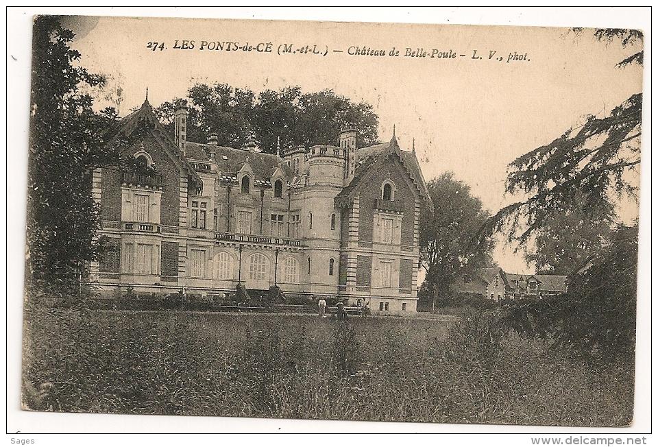 ANGERS Maine Et Loire POUR PARIS METTRE LE NUMERO DE L'ARRONDISSEMENT. 1928 - Marcophilie (Lettres)