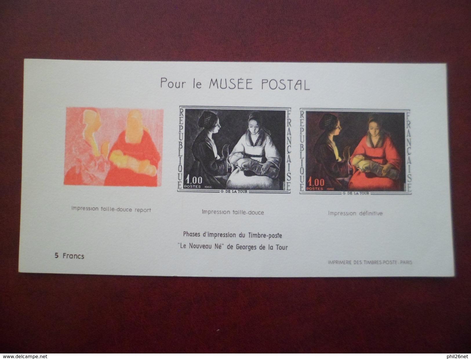 """Bloc Feuillet N° 1476b """"Le Nouveau Né"""" De Georges De La  Tour Pour Le Musée Postal Neuf  Jamais Plié TB - Mint/Hinged"""