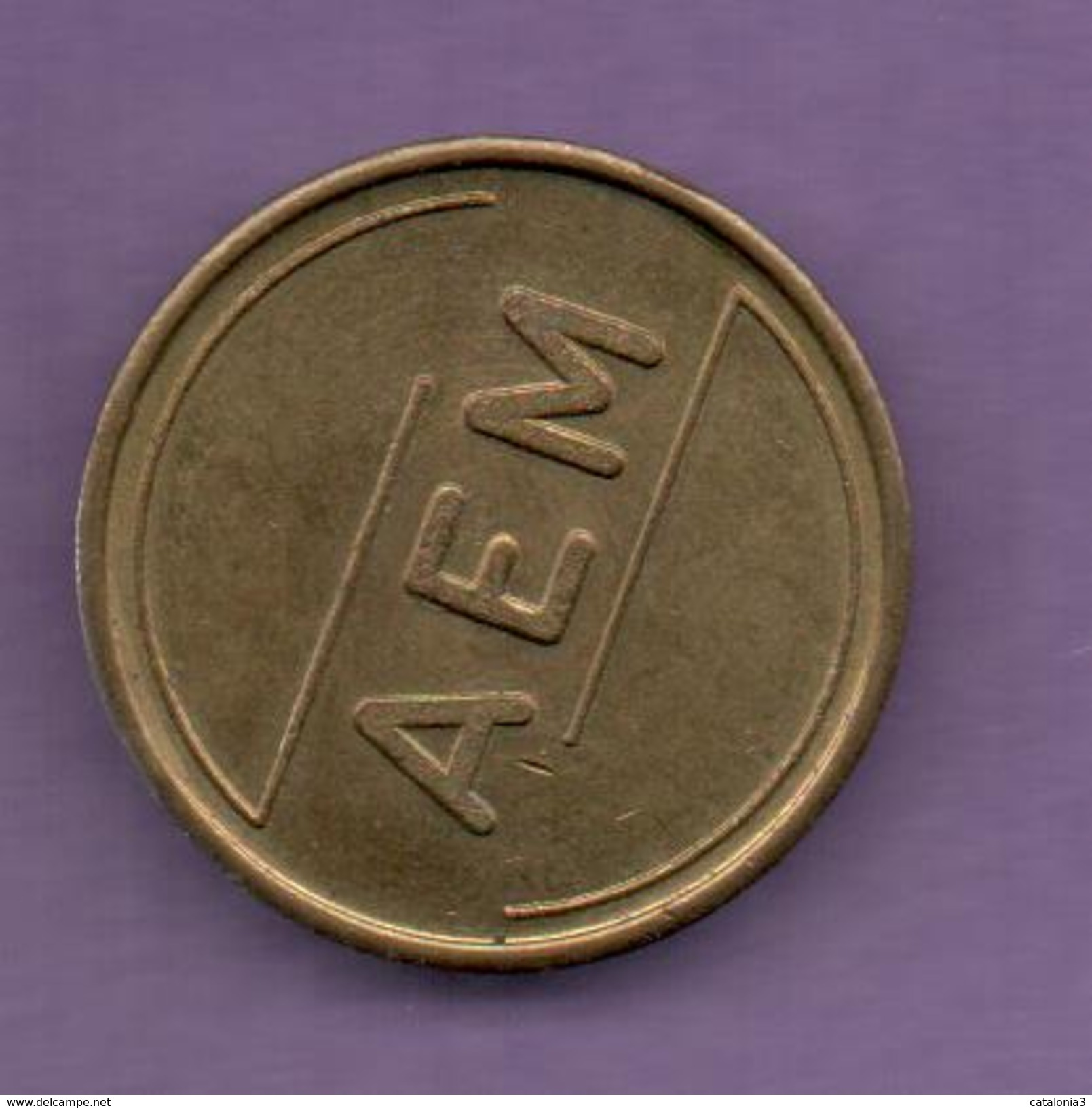FICHAS - MEDALLAS // Token - Medal - A E M  (1) - Allemagne