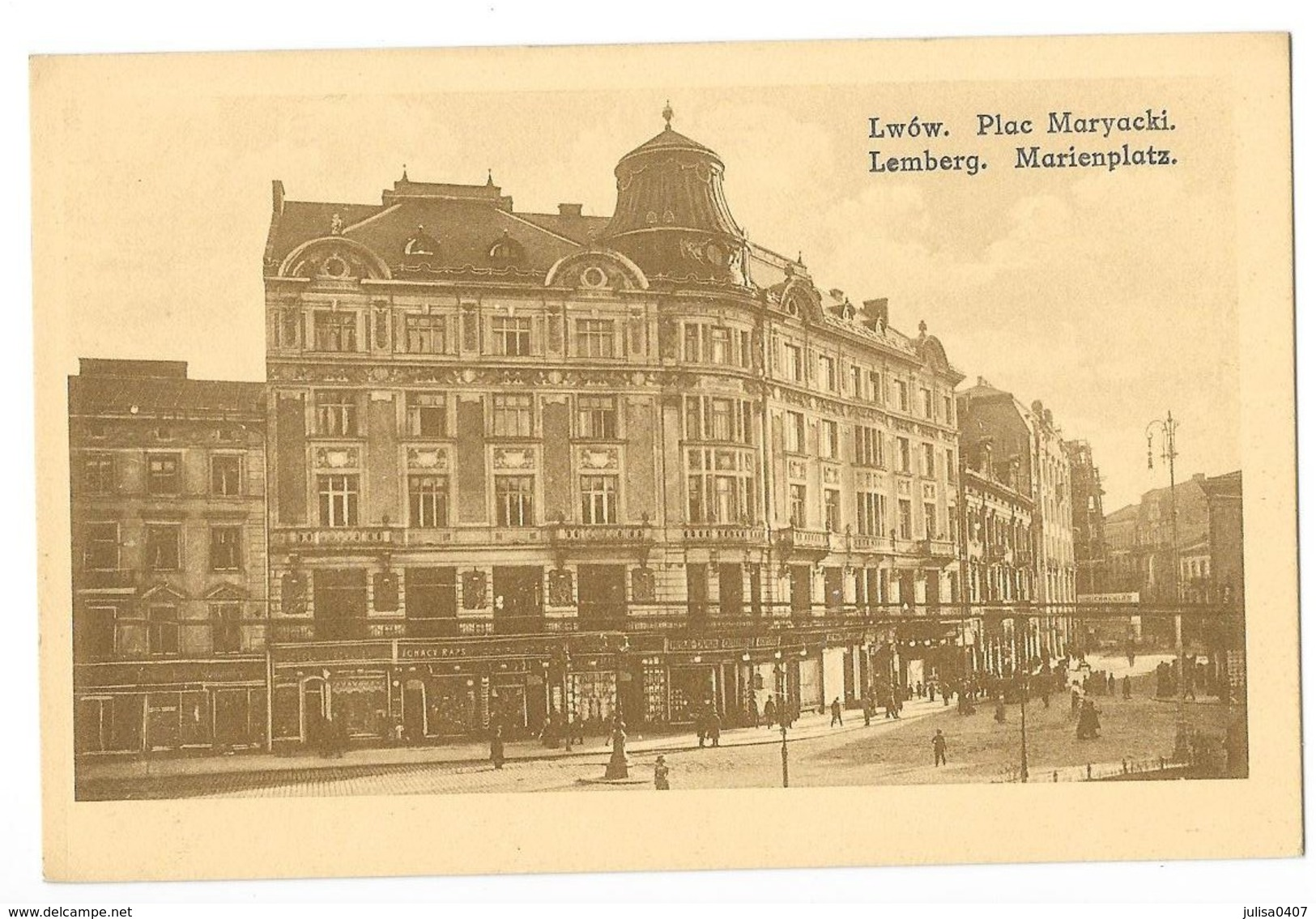 LVIV LWOW LEMBERG (Ukraine) Place Du Marché - Ukraine