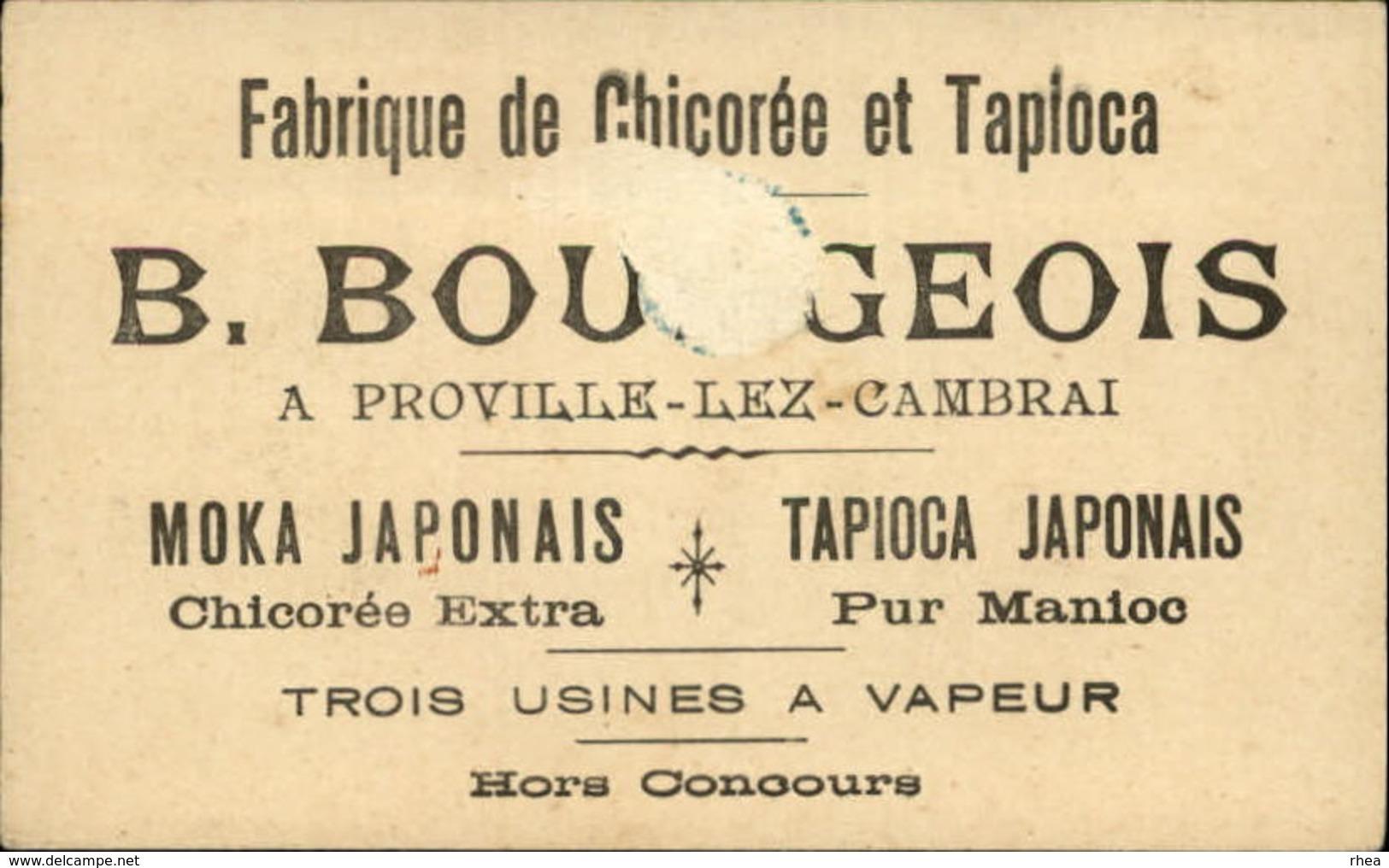 METIERS - FORGERON - Chromo Chicorée Et Tapioca Bourgeois - Chromos