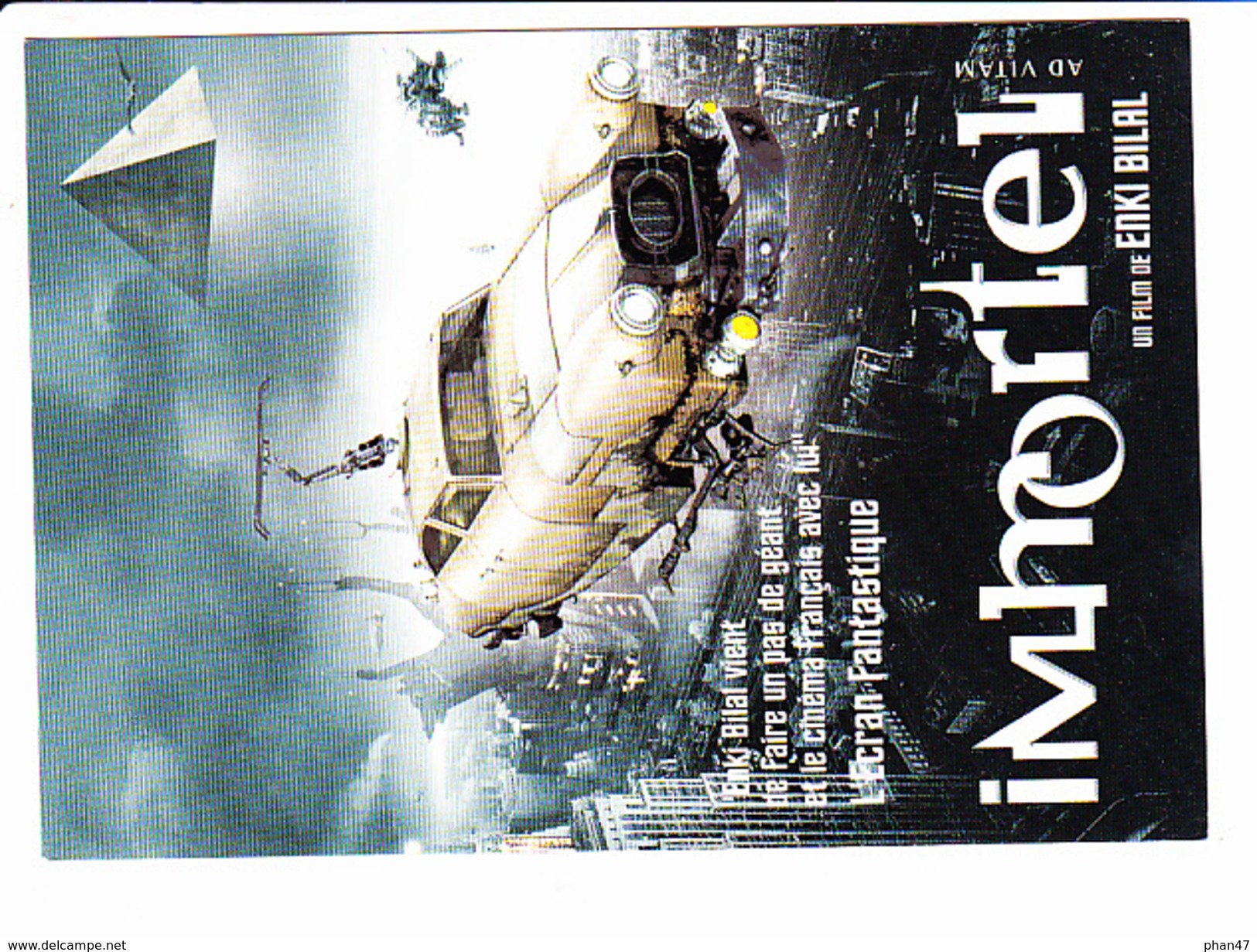 "Film ""IMMORTEL AD VITAM""  Voiture, Enki Bilal, TF1, Ed. Cart.com 2004 - Affiches Sur Carte"