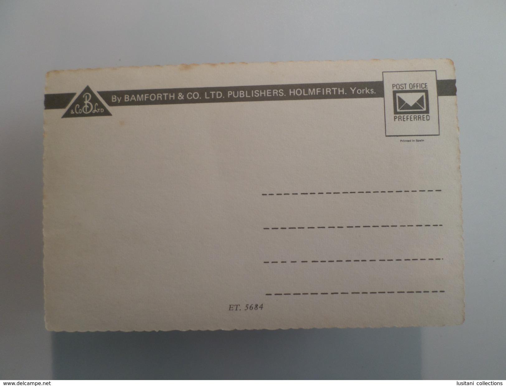 1960 YEARS UK ENGLAND WESTON-SUPER-MARE MULTI VIEWS POSTCARD - Weston-Super-Mare
