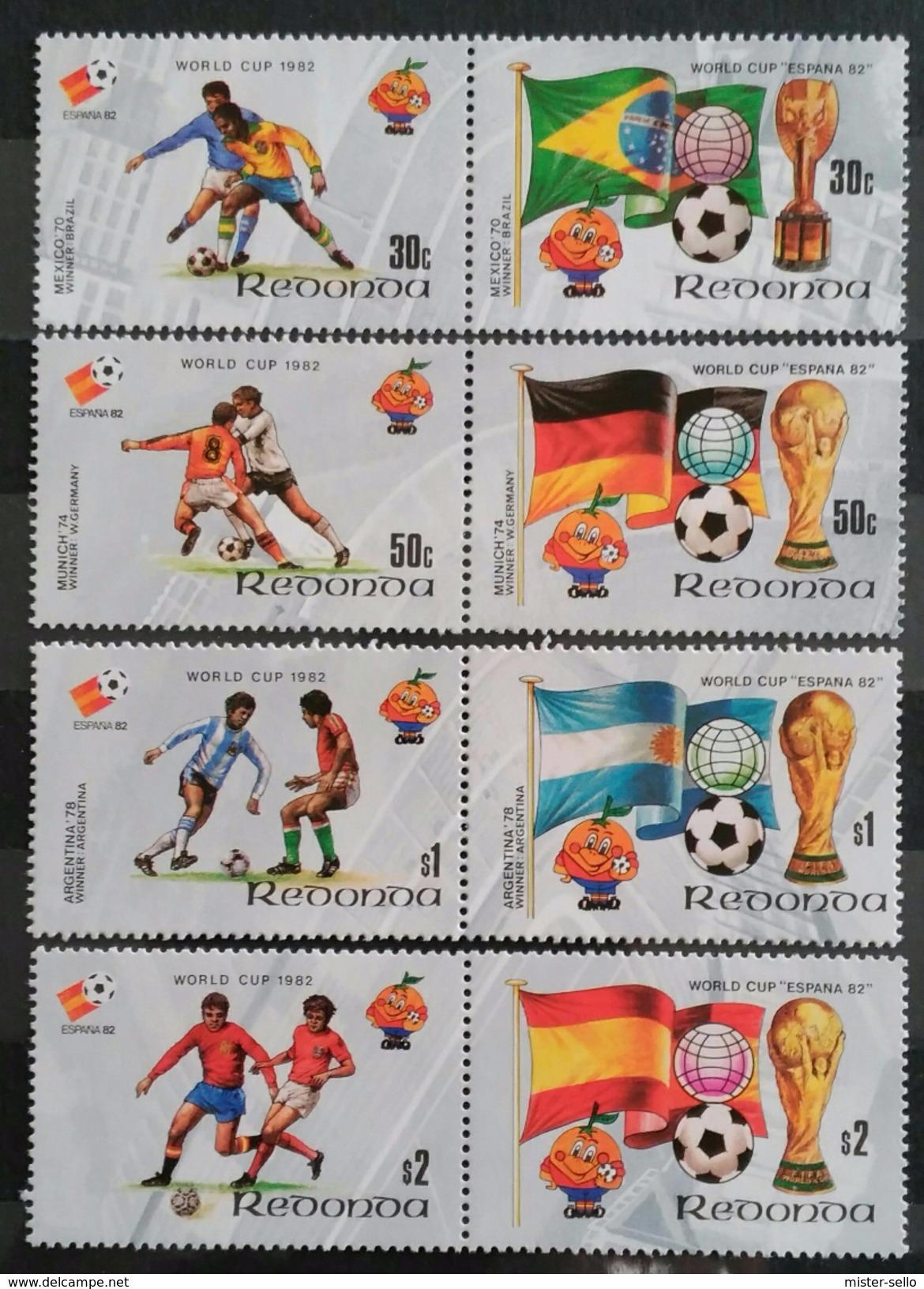REDONDA 1982 Football World Cup - Spain. NUEVO - MNH ** - Copa Mundial