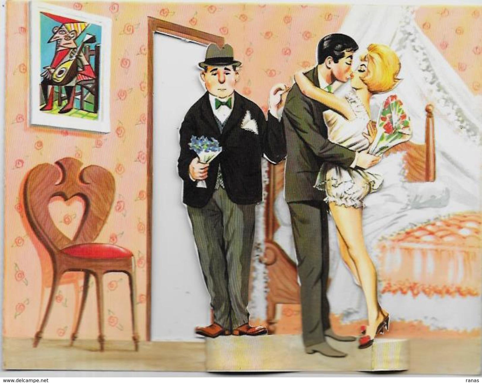 CPSM Système Louis Carrière Femme Girl Woman érotisme Non Circulé Photochrom 2130 En 2 Volets Voir Scan - Carrière, Louis
