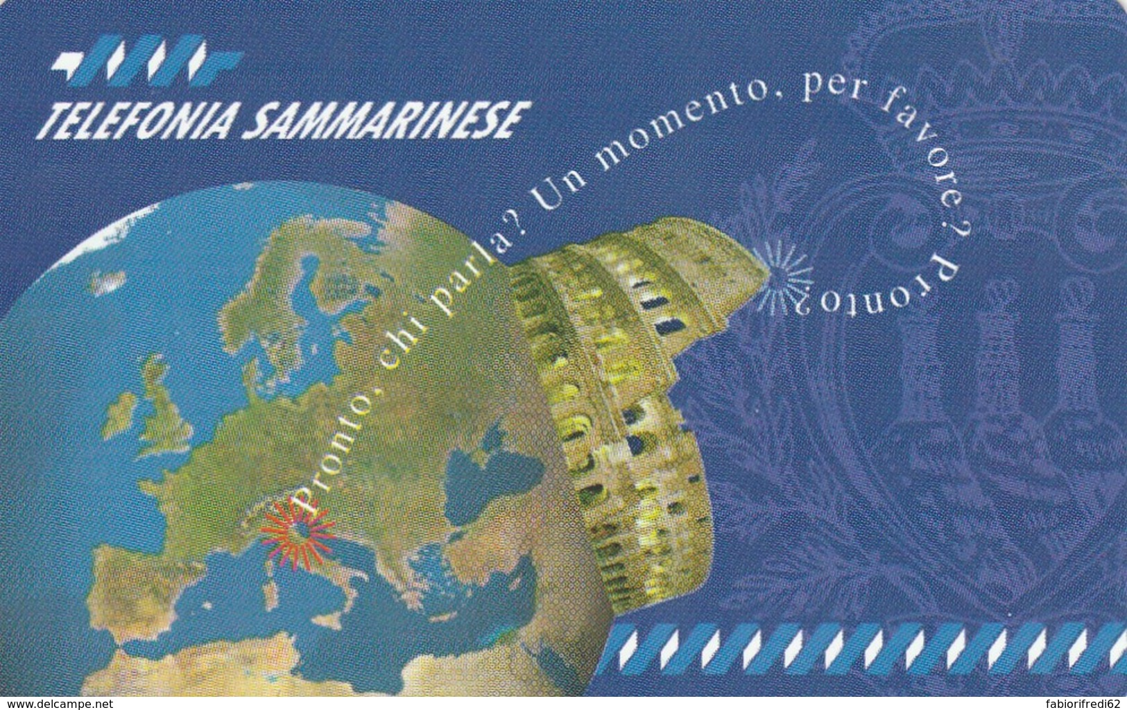 SCHEDA TELEFONICA NUOVA RSM15 PRONTO CHI PARLA - San Marino