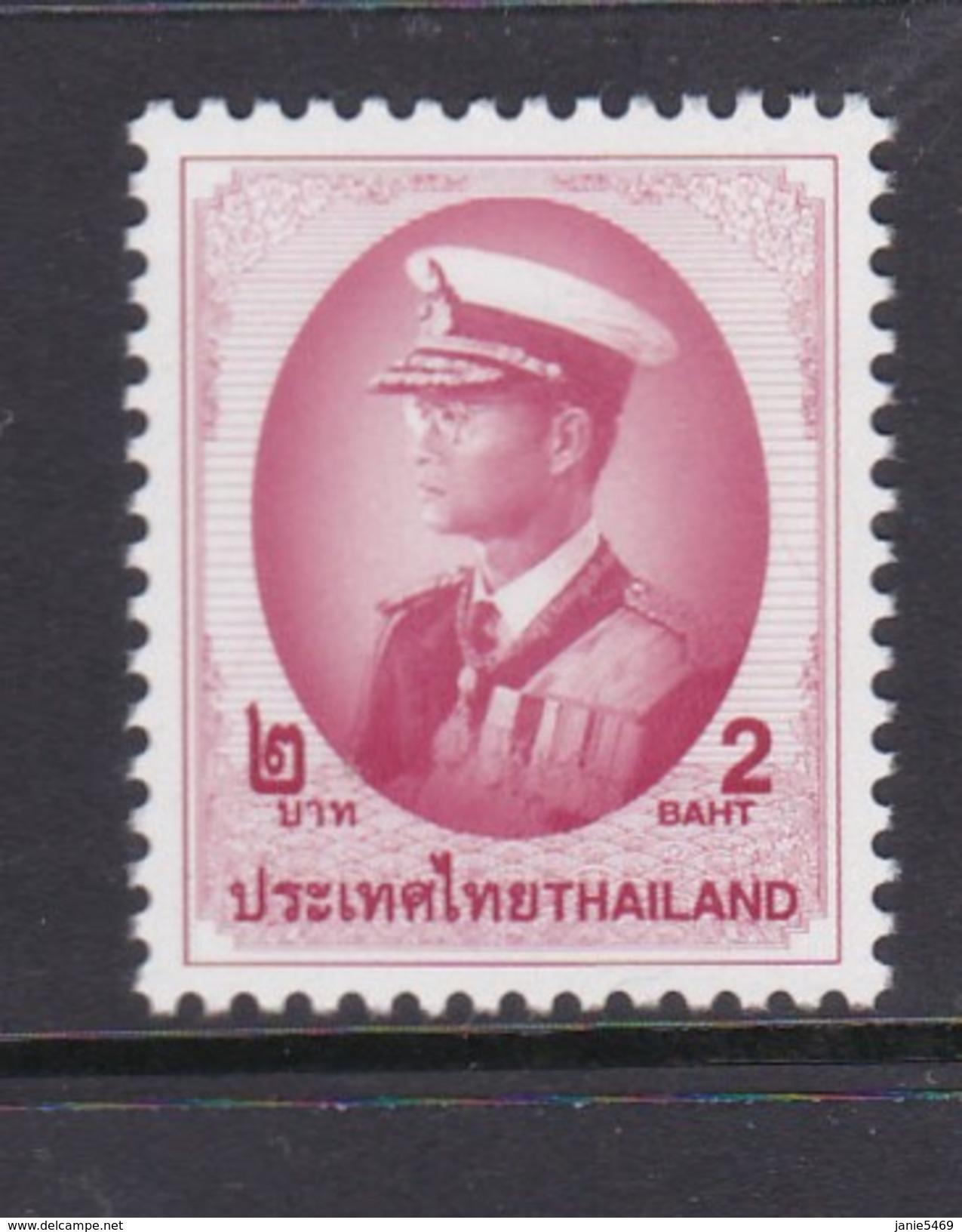 Thailand Scott 1801 1998 King Rama IX 2 Bath MNH - Thailand