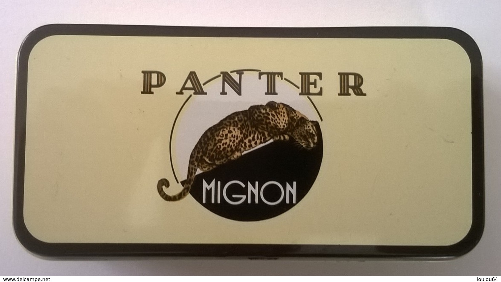 Boîte à Cigares - PANTER - Mignon - En Parfait état - - Boites à Tabac Vides