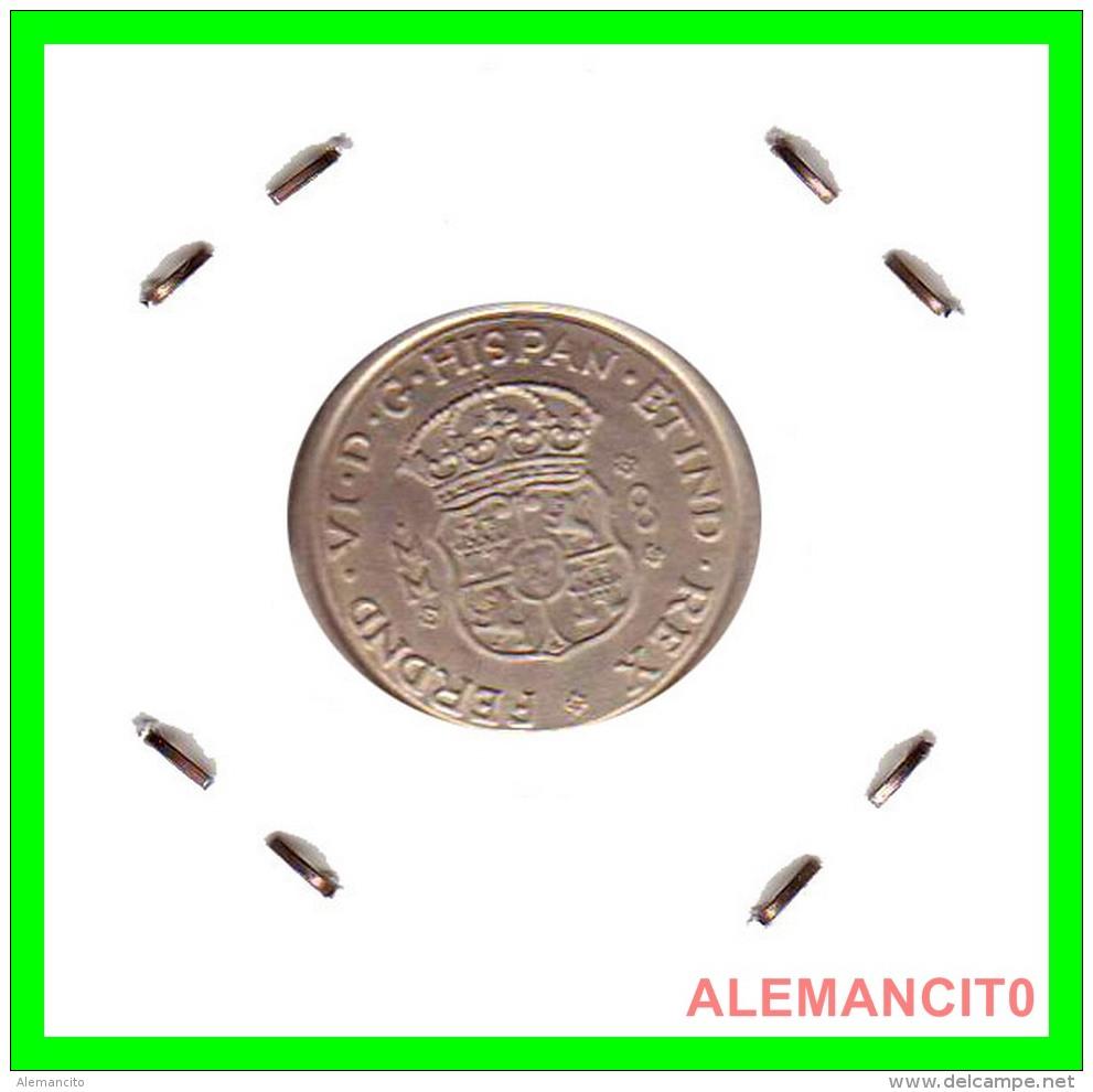 "FERDND HISPAN    "" SILVER ""  MONEDA REPLICA "" S/C 7,60 GRS  PLATA 22 MM - Monedas"