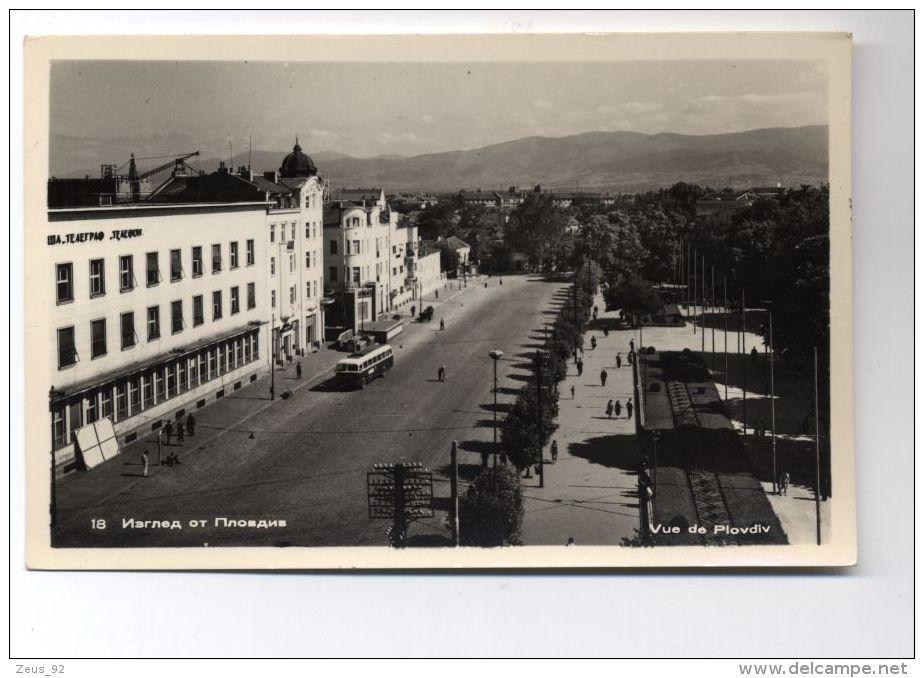 T926 PLOVDIV -  VIEW OF A STREET - Bulgarien
