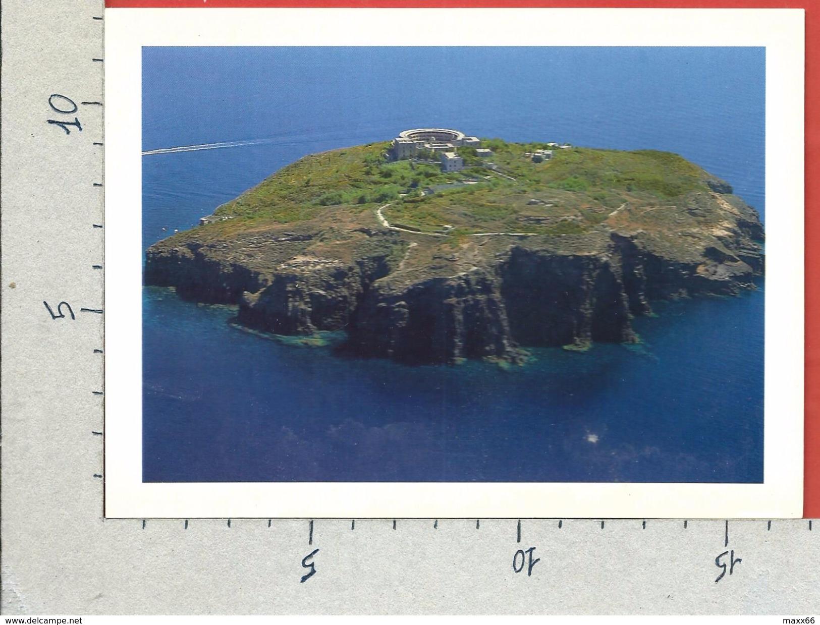 CARTOLINA NV ITALIA - VENTOTENE (LT) - Isola Di Santo Stefano - Veduta Aerea - 12 X 17 - Latina