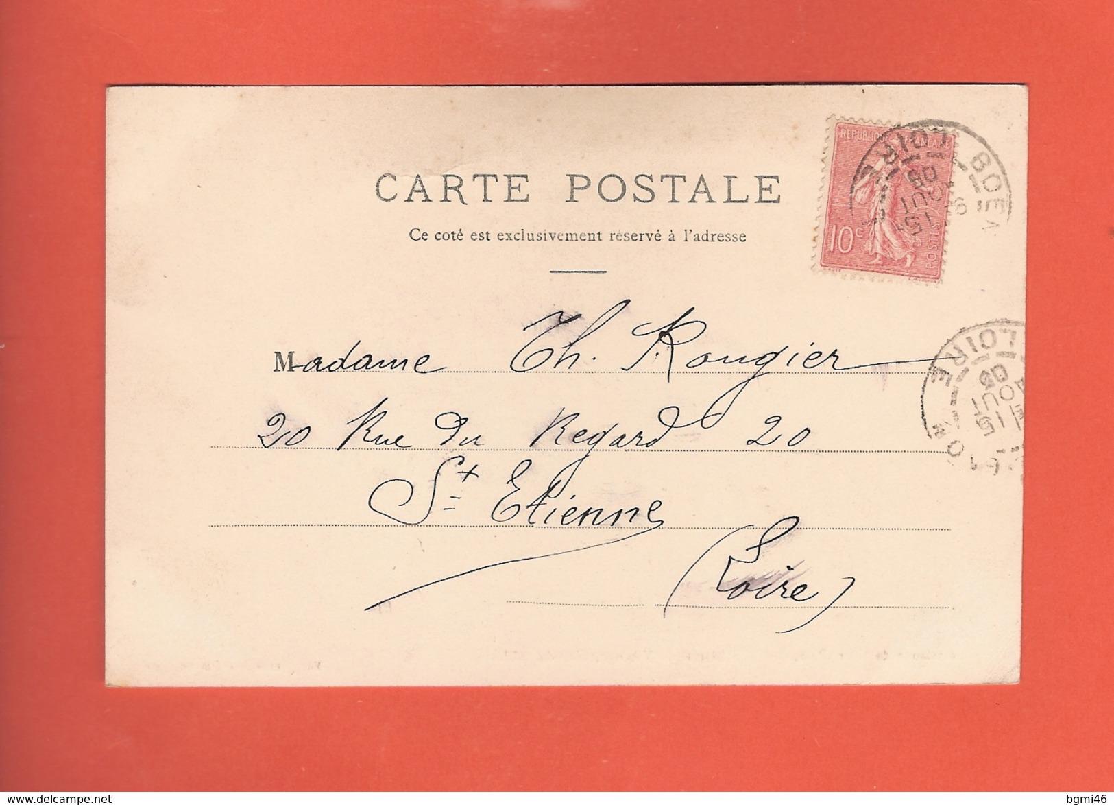 * CPA..dépt 63..Environs De GIAT :  Château De Vatange , Côté Du Jardin   : Voir 2 Scans - Frankrijk