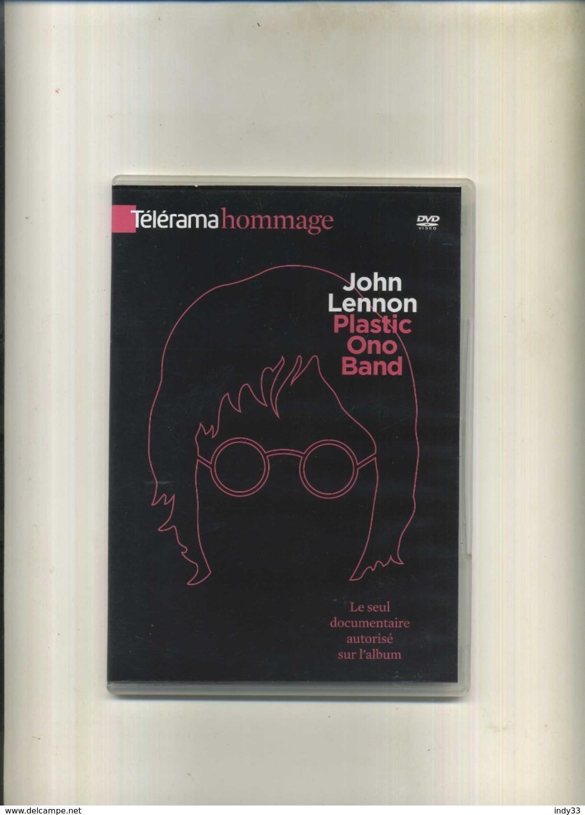 JOHN LENNON PLASTIC ONO BAND . TELERAMA HOMMAGE . DVD . - Musik-DVD's