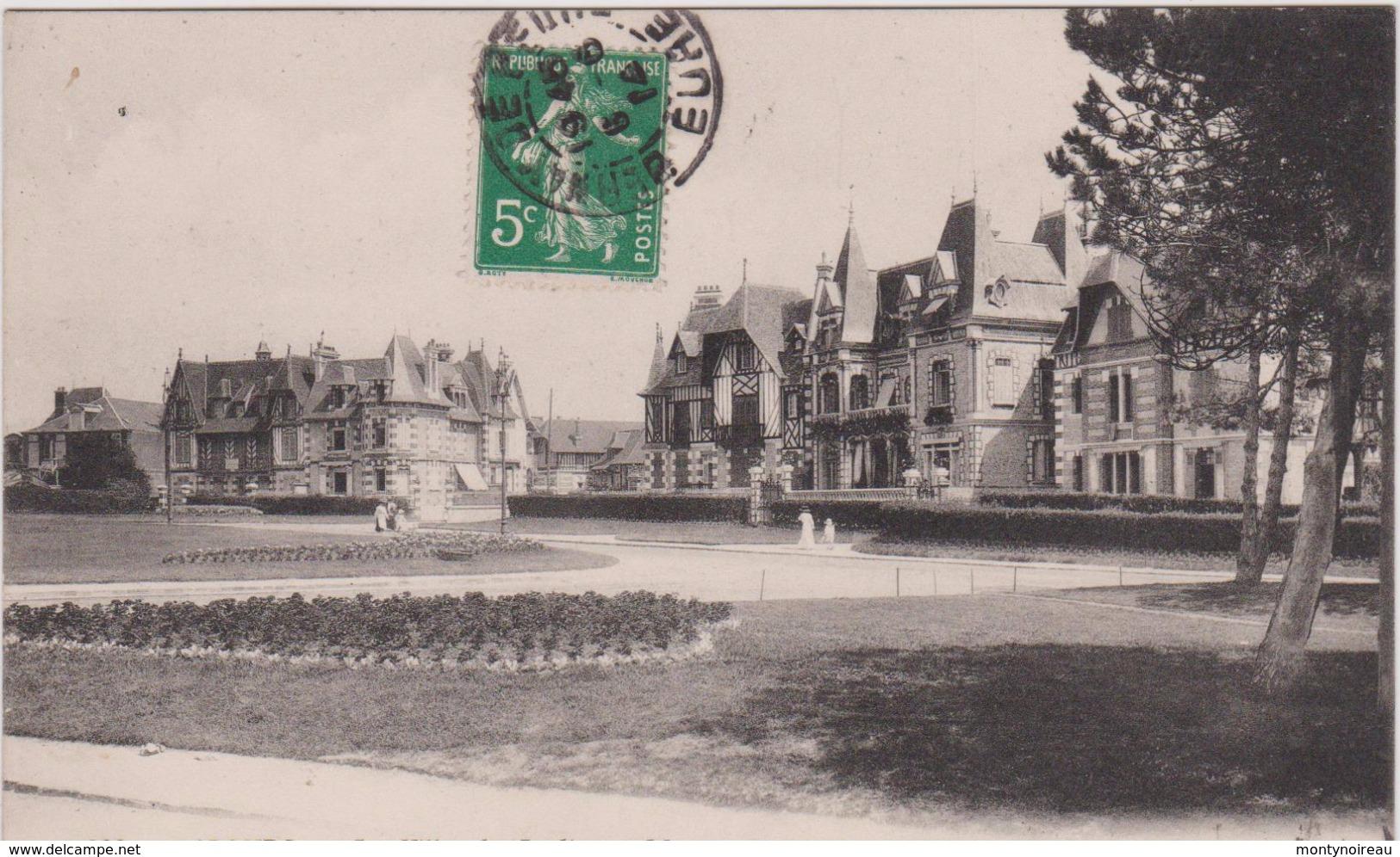 Calvados : CABOURG :  Vue Les  Villas - Cabourg