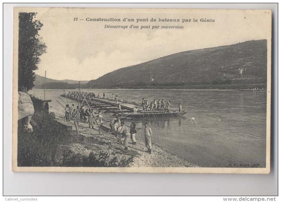 CONSTRUCTION D'UN PONT DE BATEAUX PAR LE GÉNIE - Démarrage D'un Pont Par Conversion - Materiaal