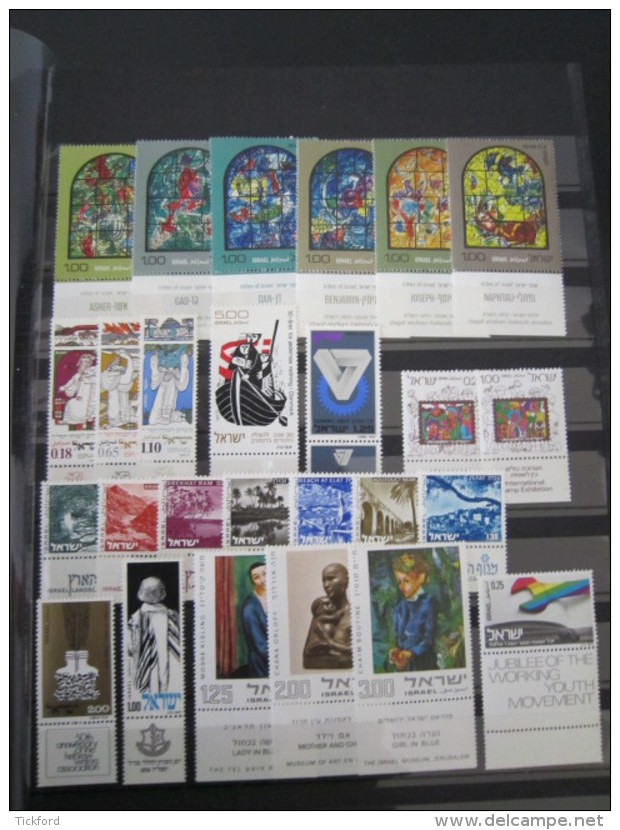 ISRAEL - Collection 1954 /1990 NEUFS ** LUXE / MNH - Poste+PA Avec TABS Complets + BF 2/31 à Moins De 10% De Cote Yvert - Israel