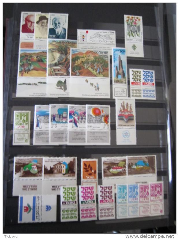 ISRAEL - Collection 1954 /1990 NEUFS ** LUXE / MNH - Poste + PA Avec TABS Complets + BF 2/31 à 10% De La Cote Yvert - Israel
