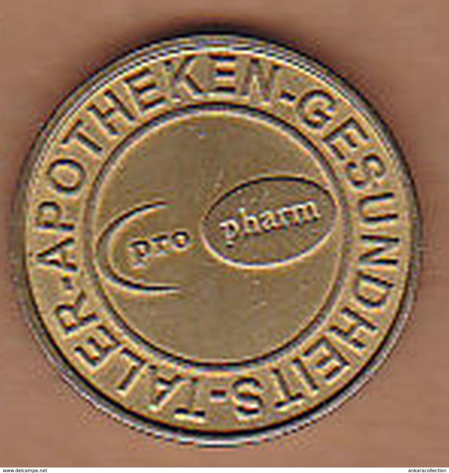 AC -  GESUNDHEITS TALER APOTHEKEN SANDOZ PRO PHARM PHARMACY TOKEN JETON - Monetary/Of Necessity