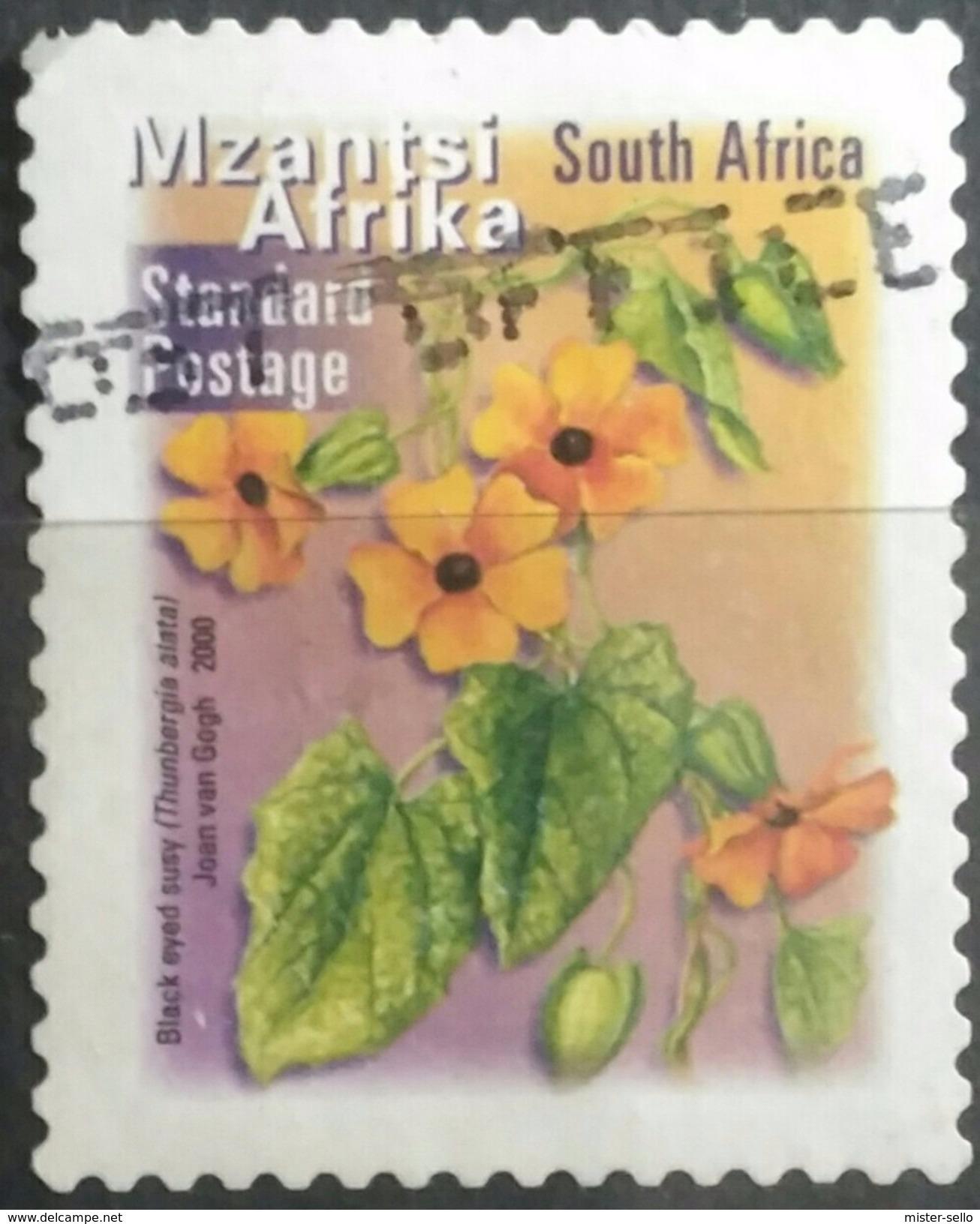 SUDAFRICA - AFRICA DEL SUR 2001 Fauna And Flora. USADO - USED. - África Del Sur (1961-...)