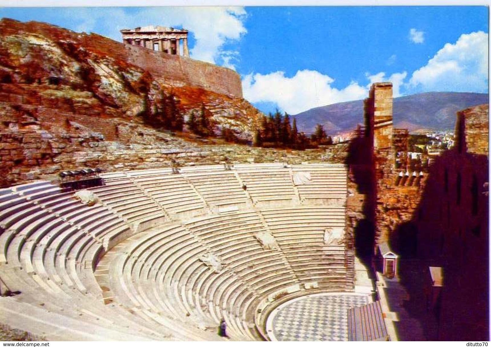 Athens - The Odeon Of Herod Atticus - 32-4 - Formato Grande Non Viaggiata – E1 - Grecia